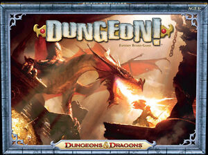 DUNGEON! Fantasy Board Game Dungeons & Dragons / Wizards of the Coast NEW! A1290
