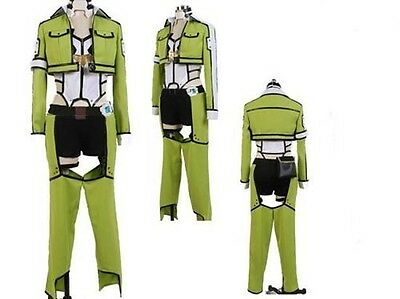 Sword Art Online Sinon Women's Cosplay Costume NEW