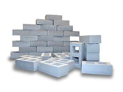 Foam Cinder Building Blocks for Kids- 40 Pack- Playlearn - Foam Blocks For Kids