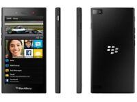 New condition Blackberry Z3 - 8gb - dual sim-Black (unlocked) Smartphone