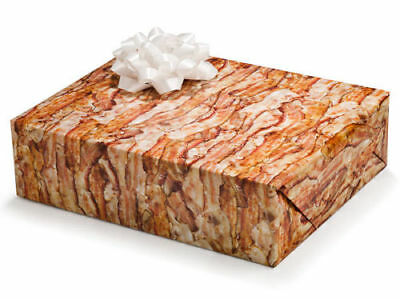 Bacon Christmas Birthday Gift Wrapping Paper!