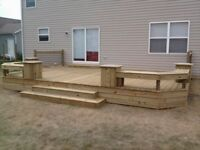DECK installation Great Rates and Restoration GTA