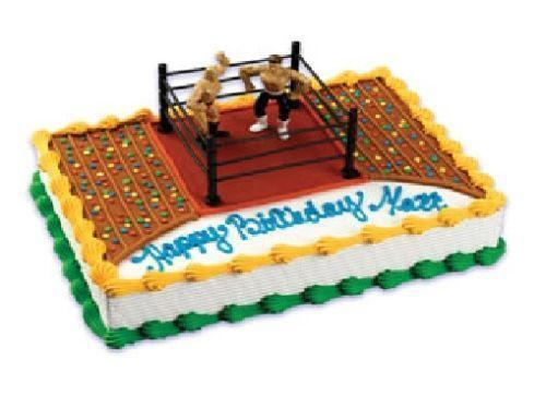 Wwe Cake Decorations Ebay