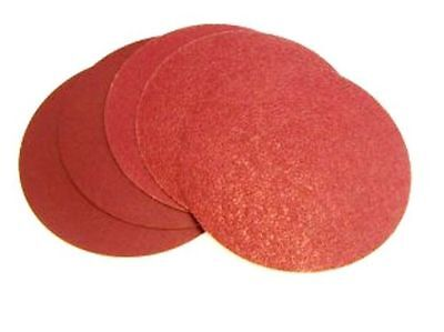 150mm  no Hole Velcro Backed Red Aluminium Oxide Sanding Disc High Quality Sia