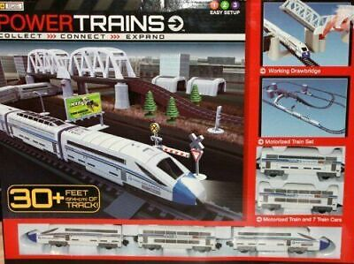 Jakks Power Trains Deluxe City Train Set Battery Operated - New in Box Christmas