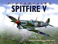 Spitfire V Supermarine Aeroplano Royal Air Force Ww2 Británico Avión Grande -  - ebay.es