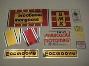 Mongoose BMX Decals