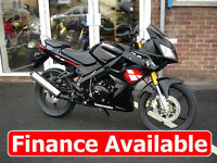 125cc Sportsbike Sports Bike Motorcycle Lexmoto XTR S 125 Leaner Legal *FINANCE*