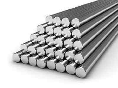 Alloy 304 Stainless Steel Solid Round Bar - 1 38 X 12 Long
