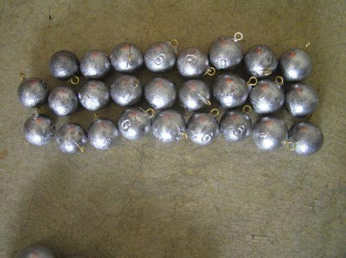 Cannon Ball Weights Fishing Ebay