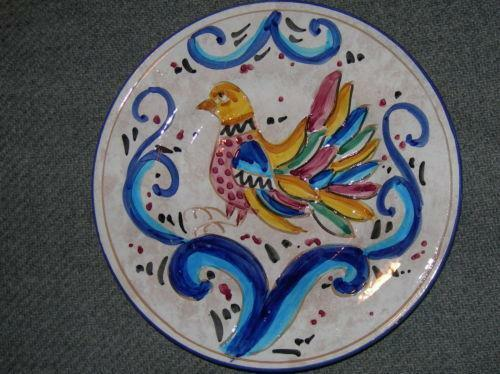 Rooster Plate Italy Ebay