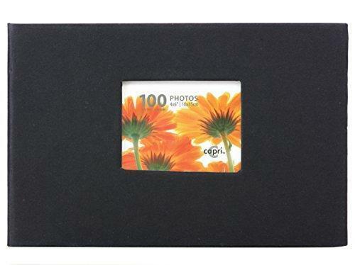 "kieragrace Album-Holds 100 4"" x 6"" Photos, Black"