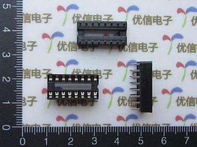Dz215 10pcs 16 Pins Dip Ic Sockets Adaptor Solder Type Socket Free Ship