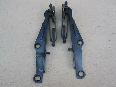 07 DODGE CHARGER Pair of Hood Hinges Left Right Driver Passenger Marine Blue