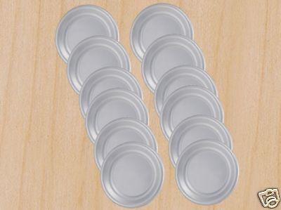 12 Each. 11 Pizza Pan Pizza Trays- Alumium - New