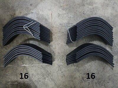 16 Each LH & RH Tines for Land Pride RTA2562-4 # 820-057C / 820-058C