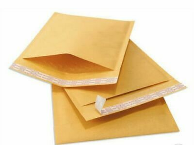 Kraft Bubble Mailers Envelopes Bags 0 00 000 1 2 3 4 5 6 7 25 To 200