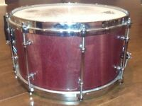 Custom-Hard-Bop-13x7-PurpleHeart-Stave-Snare-Drum  Custom-Hard-