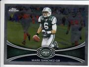 Mark Sanchez Topps Chrome