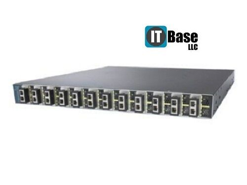 Cisco Ws-c3560e-12d-e 12 X2-based 10 Gigabit Ethernet Ports Switch Dual Power
