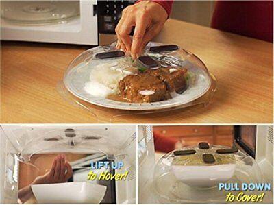 Microwave Food Splatter Guard Hover for Keep Microwave Clean&Splatter Free
