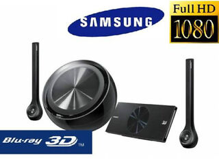 Samsung ht-d7200 2.1ch 3d blu-ray home cinema (iphone / ipod cradle/ wifi / black)