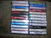 Cassette Tapes Lot