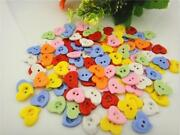 Mixed Heart Buttons
