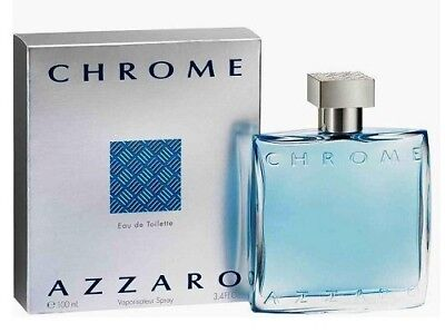 Chrome By Azzaro 3 4 Oz Edt Cologne For Men New In Box