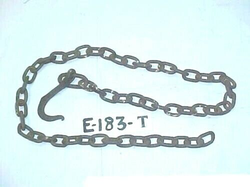 HAMMER FORGED CIVIL WAR ARTILLERY DRAG OR TRACE CHAIN