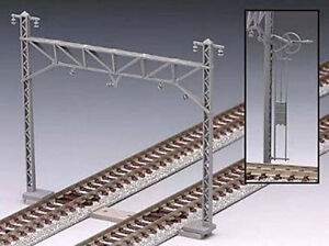 Tomix-3078-Overhead-Wire-Mast-for-Double-Tracks-24-pcs-N-scale