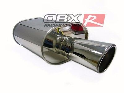 OBX Racing Universal Muffler HR08 25 Fits For  Civic Accord Prelude All Car