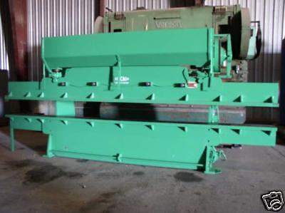 75 Ton X 18 Dries Krump Chicago Model 1012-c Press Brake