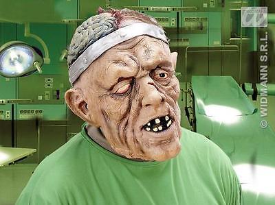 Ogre Brain Surgery Mask Scary Zombie Halloween Fancy Dress (Halloween Brain Mask)