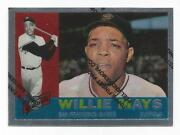1997 Topps Finest Willie Mays