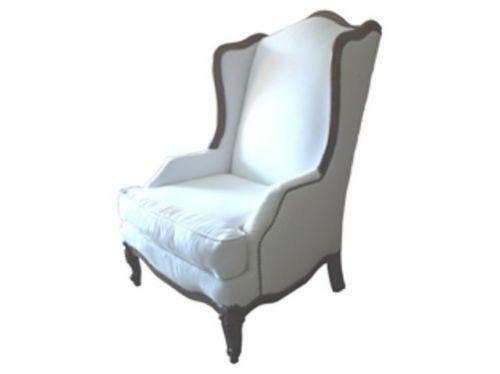 Upholstered Wingback Chair eBay : 3 from www.ebay.com size 500 x 374 jpeg 8kB