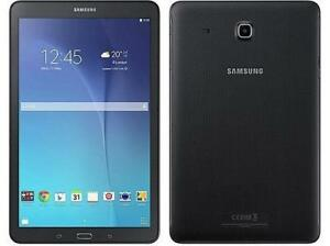 "SAMSUNG GALAXY TAB E 9.6"" 16GB TABLET ANDROID BLCK OPEN BOX 2000"