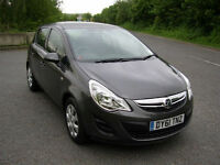 2011/61 Vauxhall Corsa 1.2i 16v 85PS a/c Exclusive ONLY 15428 MILES,REG 31/12/11