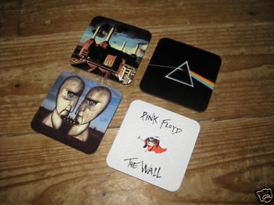 Pink Floyd Album Cover Drinks Coaster Set