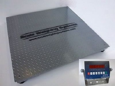 5 X 5 Ntep Industrial Floor Scale Legal Trade 10000 Lbs