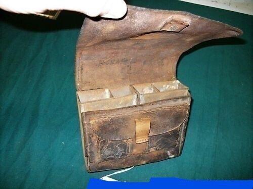 M1863 US CIVIL WAR INFANTRY CARTRIDGE BOX