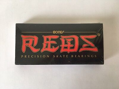 BONES BEARINGS REDS PRECISION 8 SET SK8 SKATEBOARD New Japan