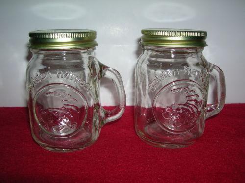 Golden Harvest Salt And Pepper Shakers Ebay