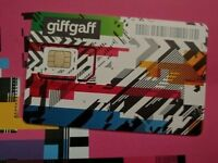 FREE ! Giffgaff SIM card with £10 credit (£10 top-up required)