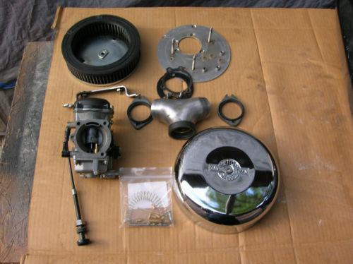 harley cv carb  intake  u0026 fuel systems