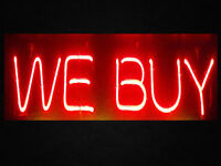 Wanted: WE BUY ALL TYPES ANTIQUES, COLLECTABLES, TOYS, COINS, JE