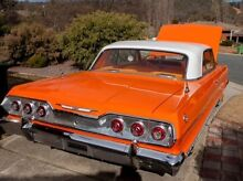 1963 Chevrolet Impala 2dr hardtop Queanbeyan Queanbeyan Area Preview