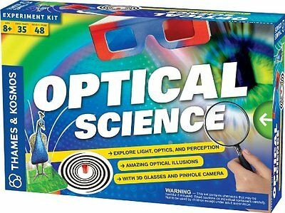 Thames and Kosmos 665005 Optical Science 2012 Edition Experiment - Science Experiment Kit