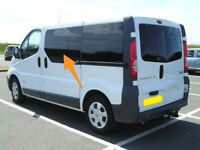 Renault Trafic N/S/F and O/S/F Fixed Window in Privacy Tint