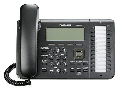 Panasonic Kx-ut136 Sip Phone 3 Line Display